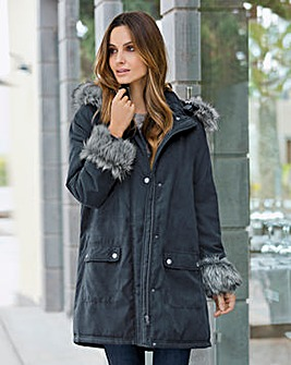 Together Showerproof Parka Coat