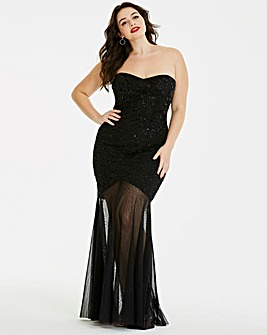 Simply Be Beaded Maxi Dress