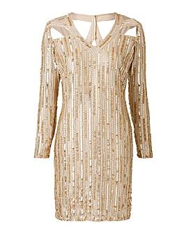 Simply Be Beaded Dress