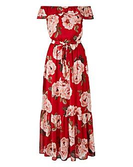 Joanna Hope Print Gypsy Dress