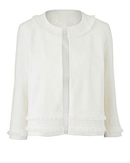 Joanna Hope Crop Jacket