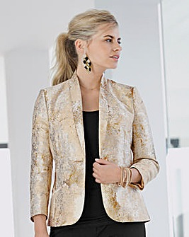 Together Metallic Tailored Jacket
