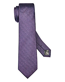 Kensington Woven Purple Silk Tie