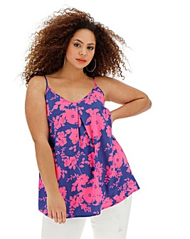 Blue/Pink Strappy Cami