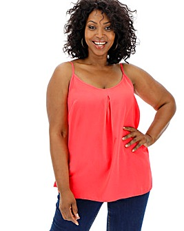 Neon Pink Strappy Cami
