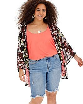 a3c0d839d60cf Women's Plus Size Kimonos and Jackets | Short & Half Sleeve | Simply Be