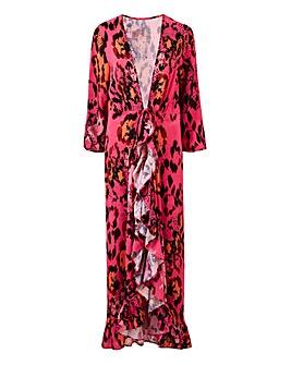Layer Frill Kimono