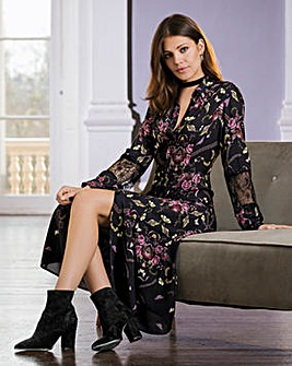 Together Floral Shirt Dress