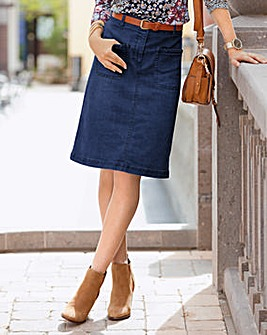 Together Denim Skirt