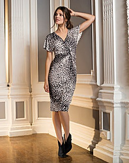 Together Animal Print Dress
