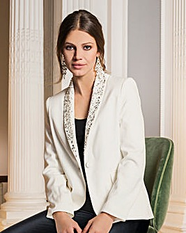 Together Beaded Tailored jacket