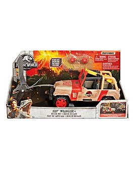 Matchbox Jurassic World Jeep Wrangler