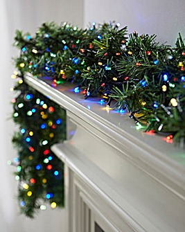 Battery Operated Multi Coloured LED String Light
