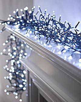 White LED Cluster Lights
