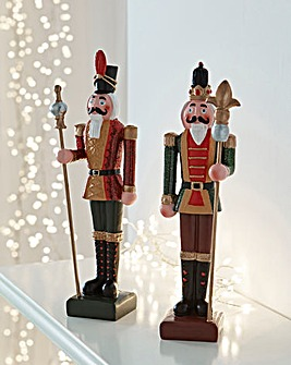 Set of 2 Nutcrackers