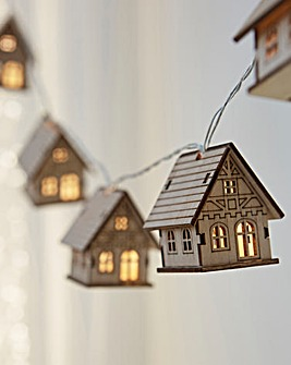 1.5M Christmas Cottage String Lights