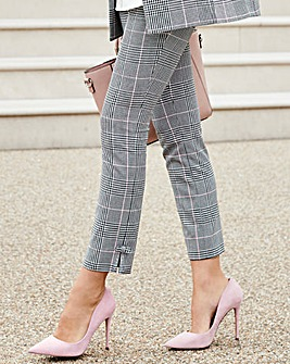 Together Check Bow Trouser