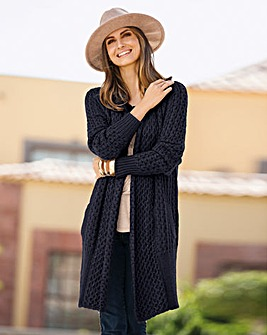 Together Cosy Longline Cardigan