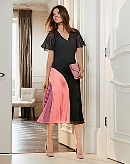 Together Pleat Skirt Dress