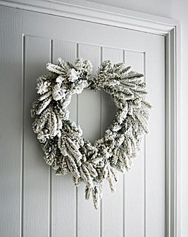 Lapland Heart Wreath 50cm