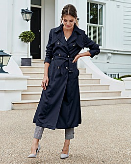 Together Navy Mac Coat