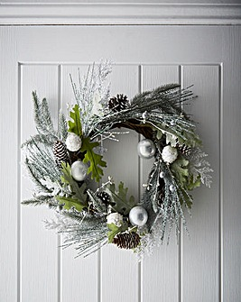 Winter Forest Wreath 50cm