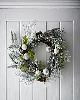 Winter Forest Wreath 50cm