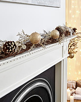 Champagne Gold Garland 1.8m