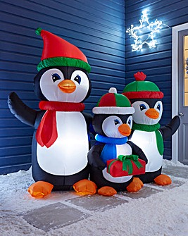 Inflatable Penguin Family 1.5m