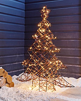 1M Pin Wire Rattan Tree