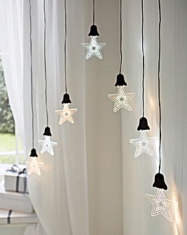 Led Acrylic Stars Curtain Lights