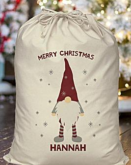 Personalised Gonk Santa Sack