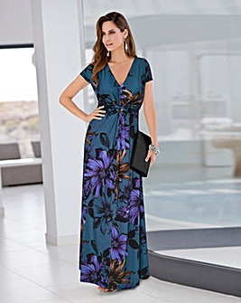 Together Print Maxi Dress