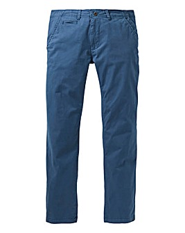 Petrol Stretch Tapered Chino 29 Inch