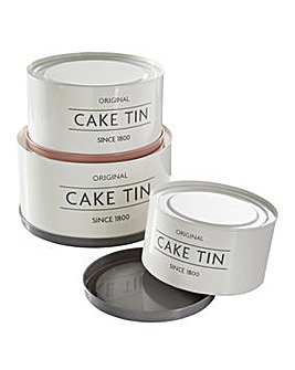 Mason Cash Innovative Set of 3 Cake Tins