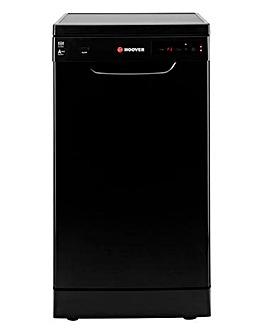 Hoover 10 Place Dishwasher Black