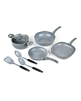 Russell Hobbs 7 Piece Pan & Utensil Set