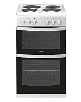 Indesit ID5E92KMW Electric Twin Cooker