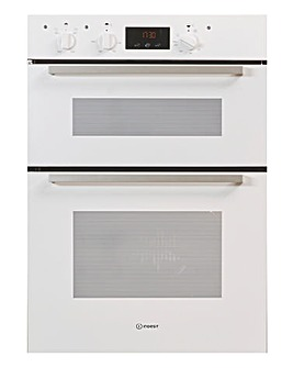 Indesit IDD6340WH Electric Double Oven