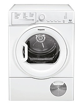 Hotpoint Aquarius TCFS83BGP 8kg Condenser Dryer + Installation