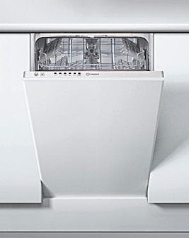 Indesit DSIE2B10 Slimline Dishwasher+INS