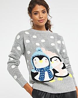 Penguin Christmas Jumper