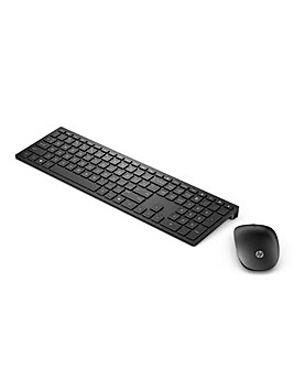 HP Black Pavilion Wireless Combo Keyboard 800