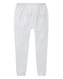 White Thermal Long Johns