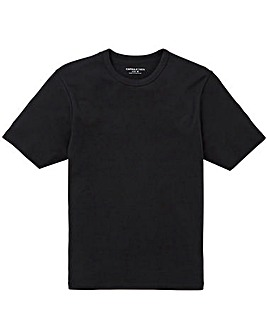Black Thermal Short Sleeve T-shirt