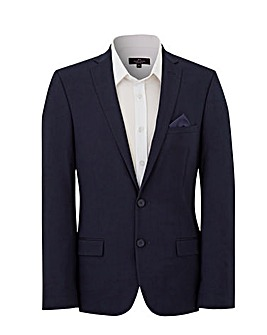 Dark Blue Stretch Regular Jacket