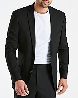 Black Stretch Suit Jacket