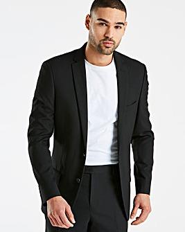 W&B London Black Stretch Suit Jacket R