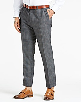 W&B LONDON Grey Check Trousers