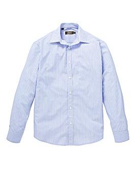 W&B London Blue Stripe Long Sleeve Shirt Long